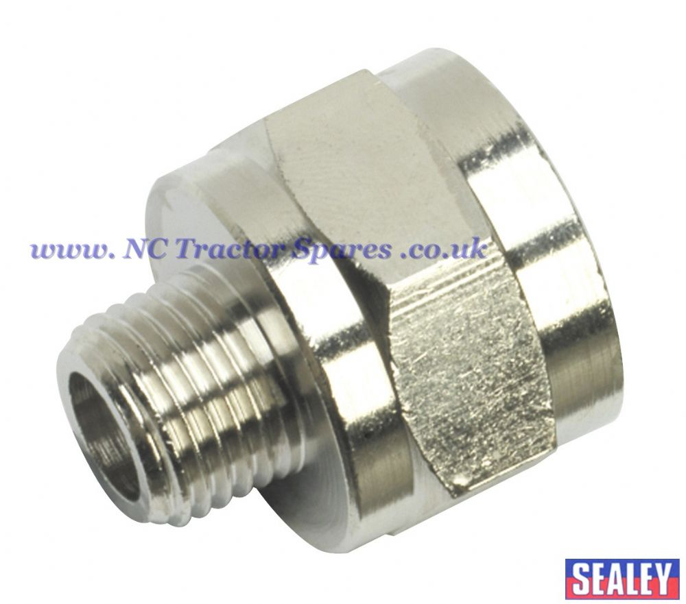 "Adaptor 1/4""BSPT Male to 1/2""BSP Female"
